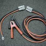 Heavy duty jump leads with Anderson connector