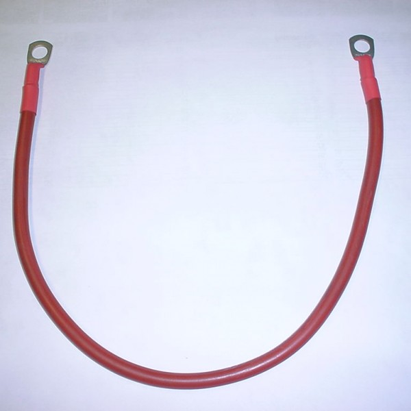 Heavy duty battery cable link lead
