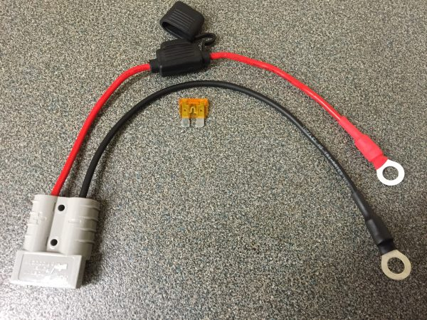 Fused link with Red cable