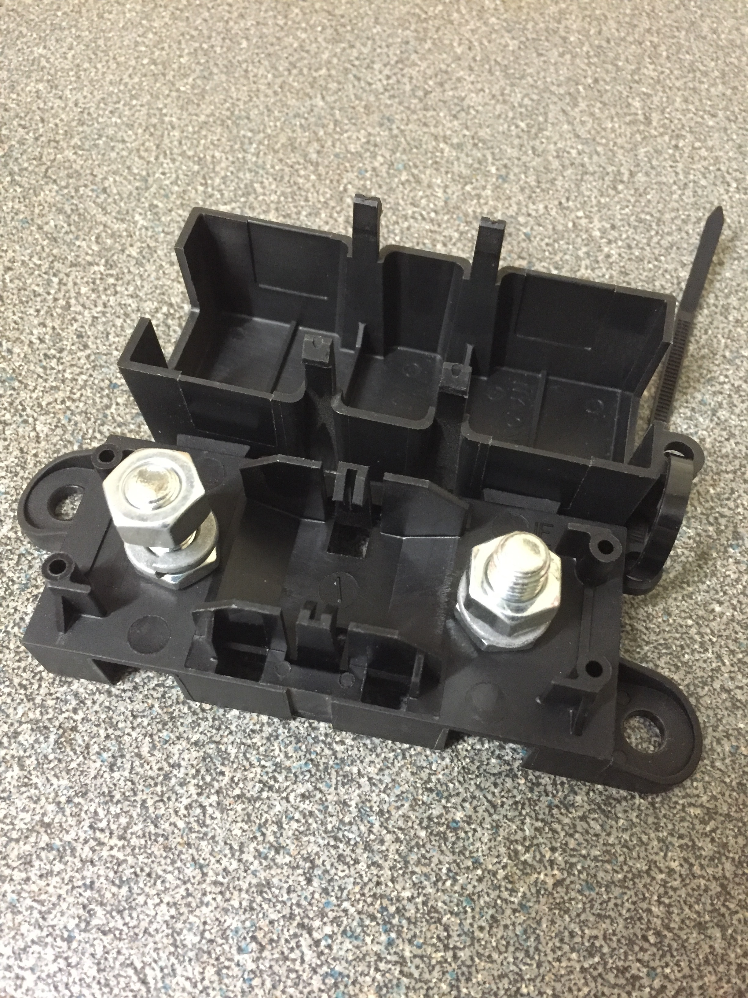 Anderson Connector Hgv Inverter Lead With Mega Fuse Car Box Uk Holder