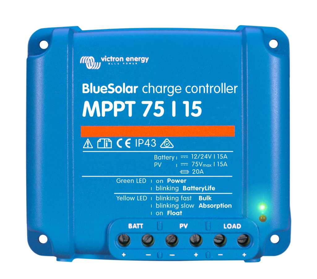 Blue Solar MPPT Charge Controller